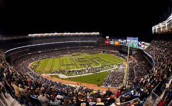 Army vs. Notre Dame at Yankee Stadium (2010)