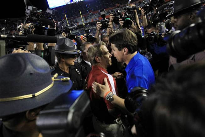 Nick Saban-Will Muschamp