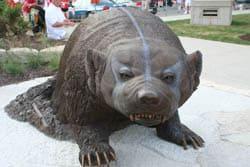 Badger Statue