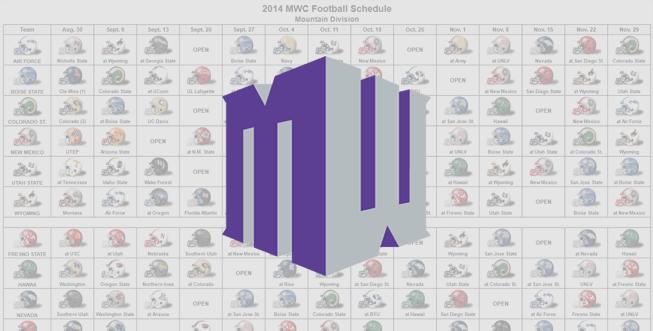 2014 MWC Helmet Schedule