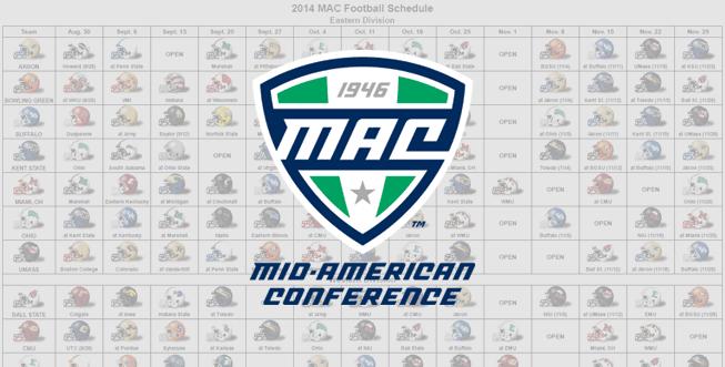 2014 MAC Helmet Schedule