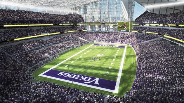 New Vikings Stadium