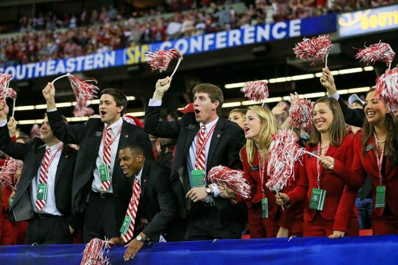 2014 SEC Championship Fans