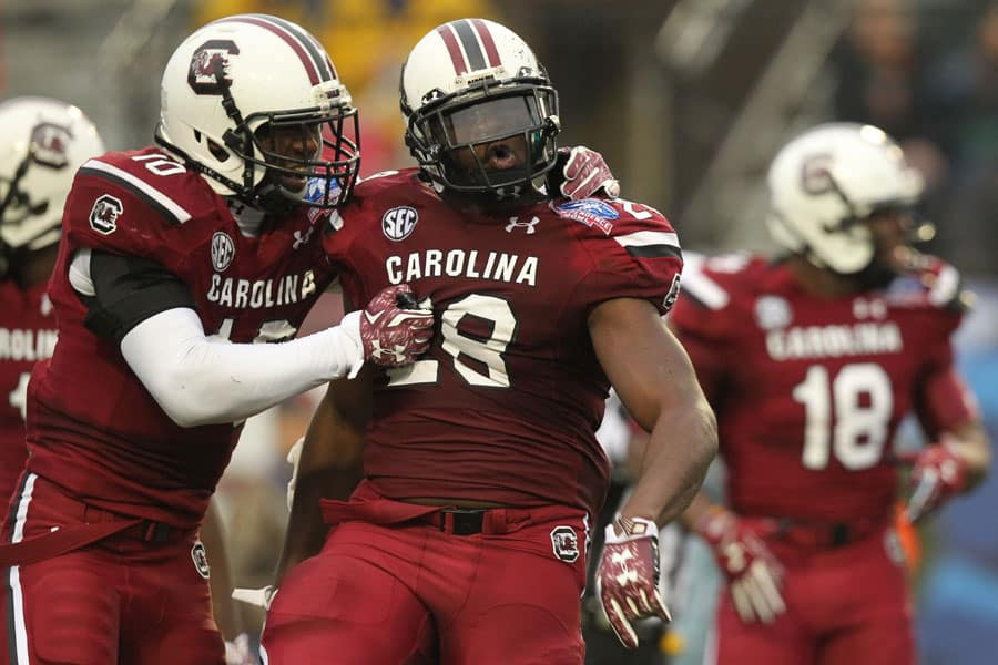 College Football Schedule: South Carolina