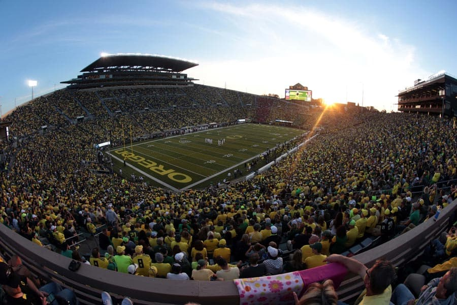 Autzen Stadium - Oregon