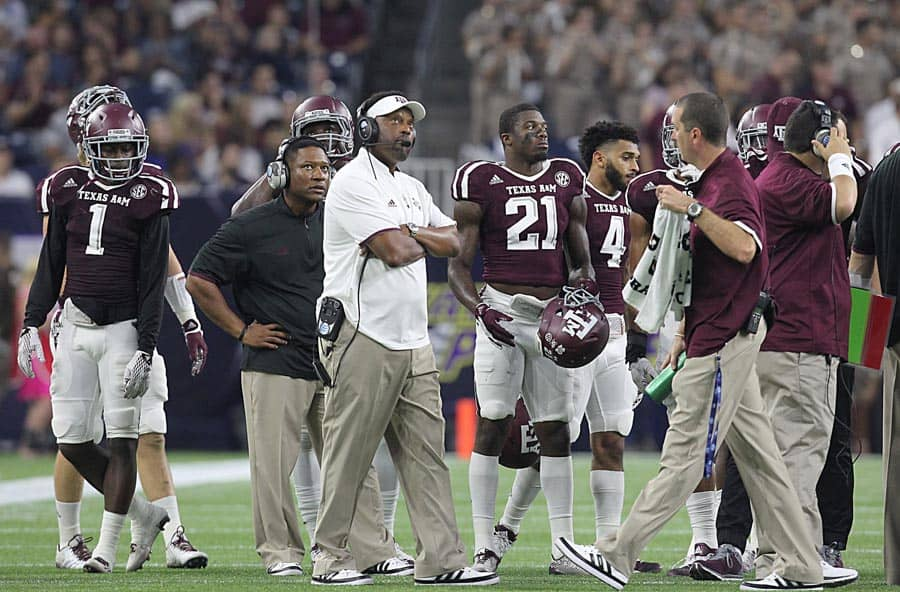 College Football Schedule: Texas A&M