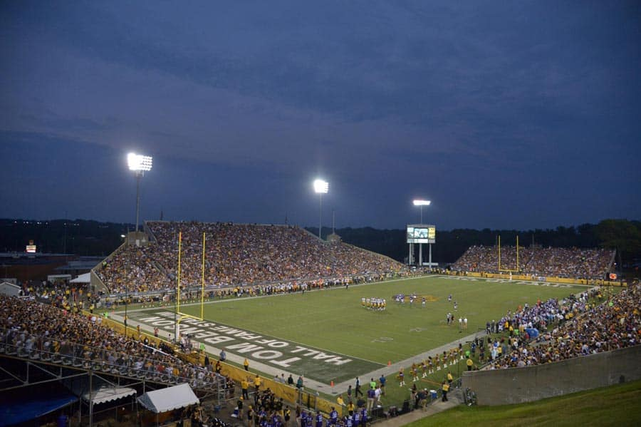 Tom Benson Hall of Fame Stadium