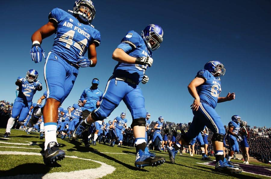 College Football Schedule: Air Force