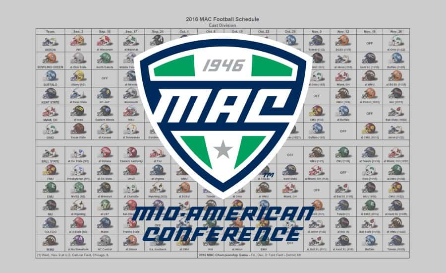 2016 MAC Helmet Schedule