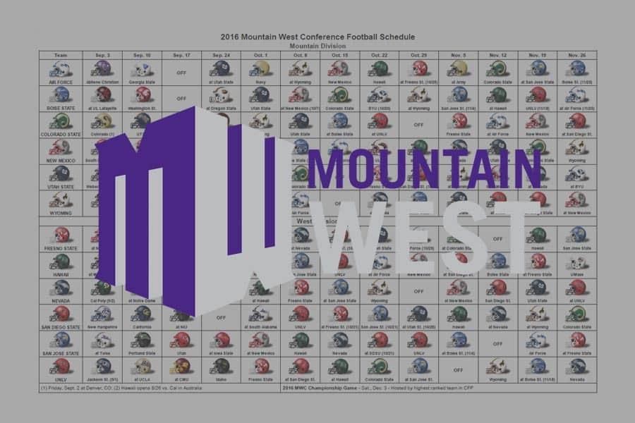 2016 MWC Helmet Schedule