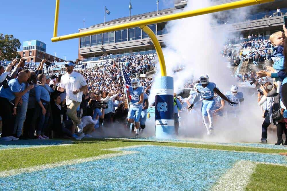 College Football Schedule: UNC
