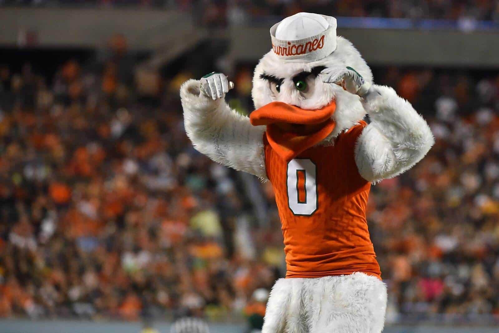 Miami Hurricanes Mascot