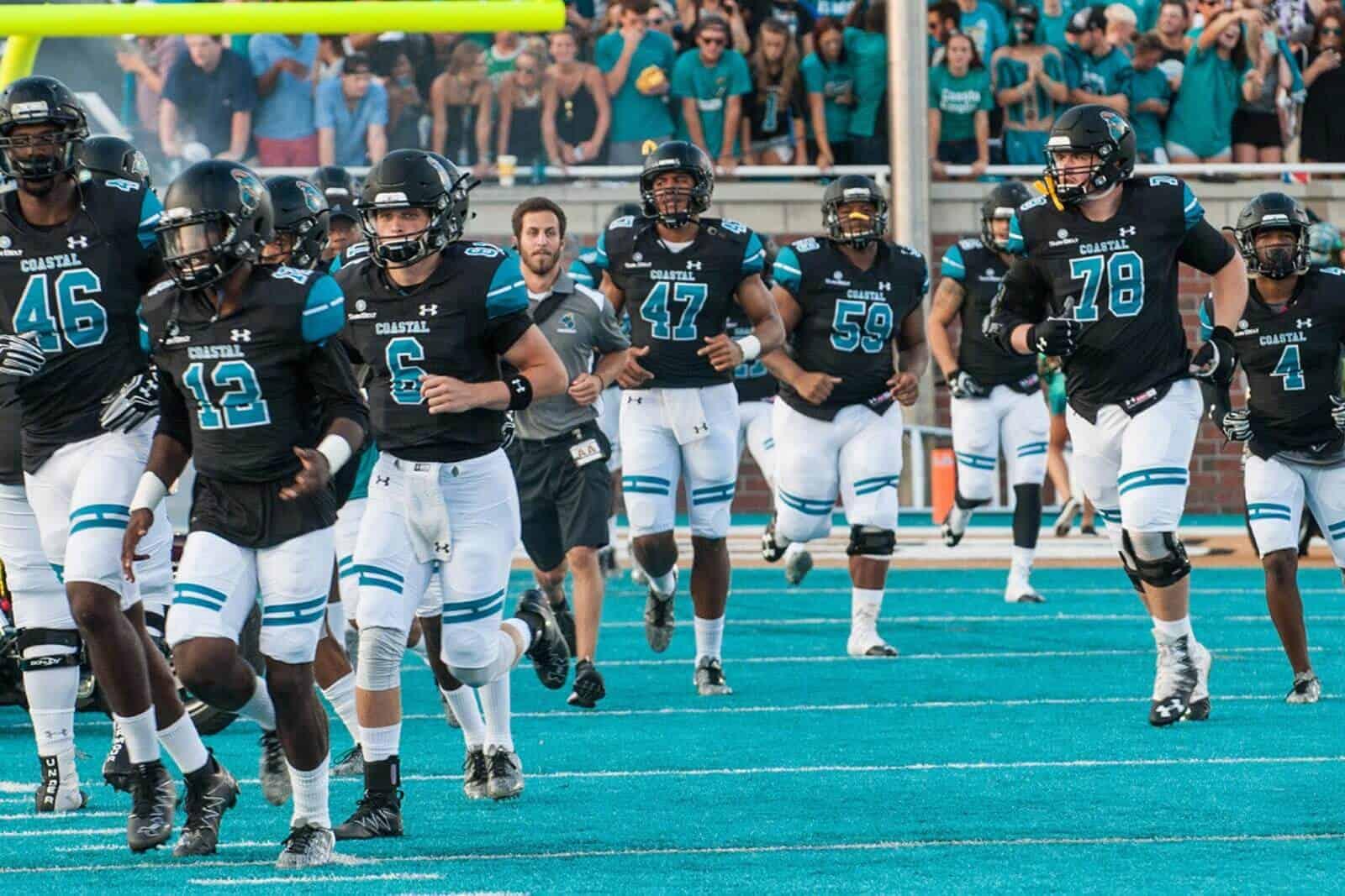 Coastal Carolina Adds Nine Games To Future Football Schedules