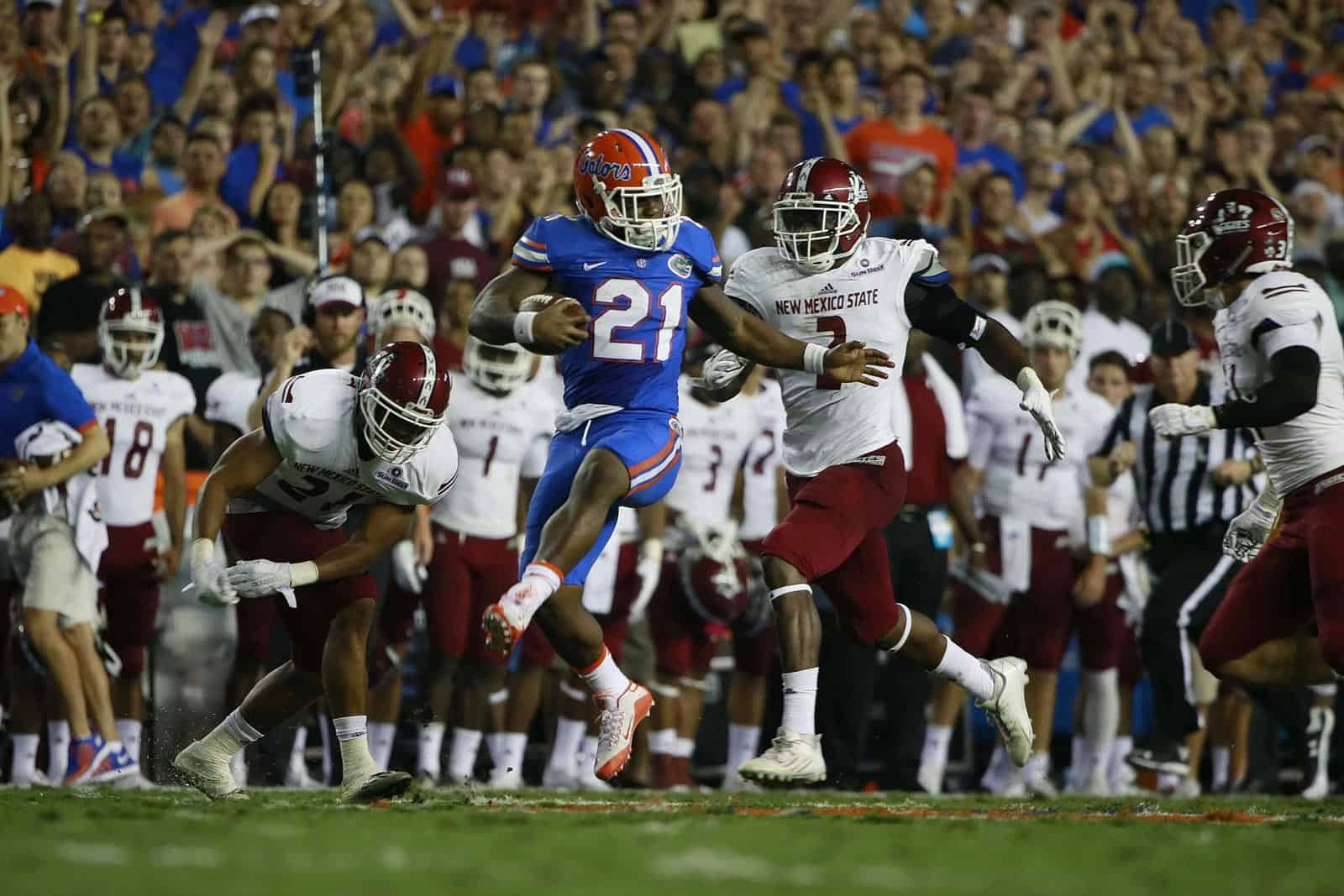 Uf Home Football Schedule 2020.Florida Adds New Mexico State To 2020 Football Schedule