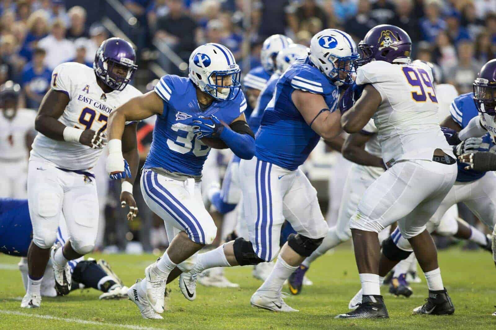 College Football Schedule: BYU-ECU