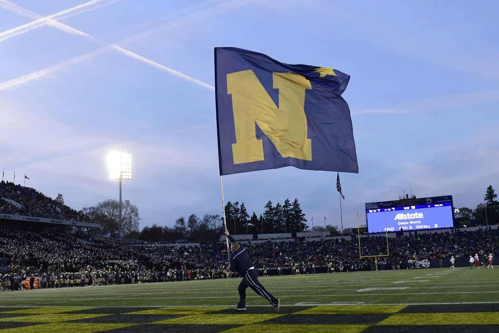 College Football Schedule: Navy