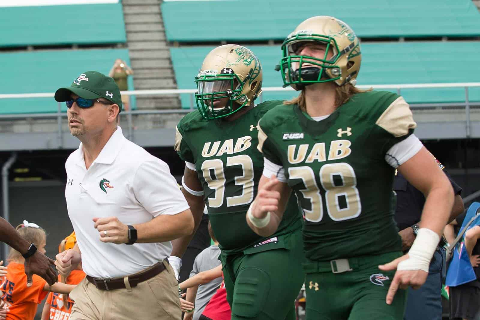 College Football Schedule: UAB