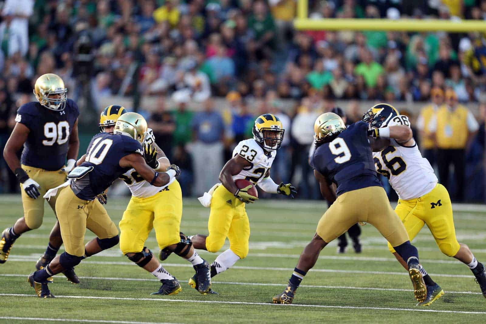 College Football Schedule: UM-ND