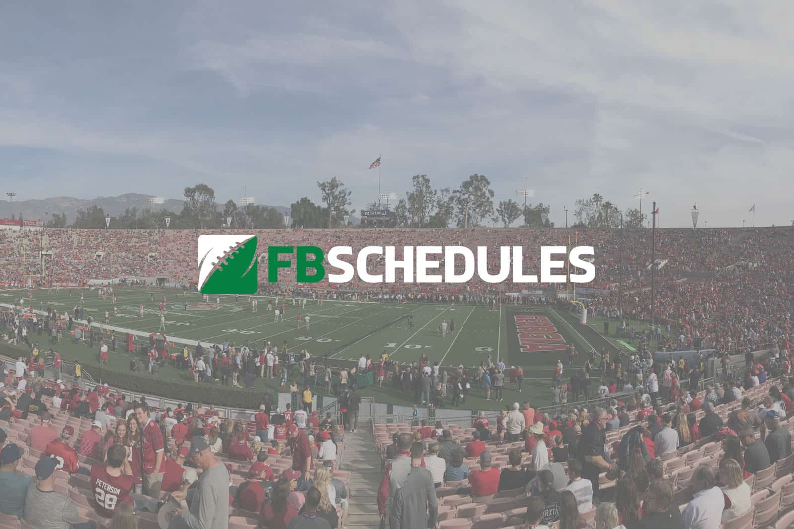 FBSchedules 2018 update