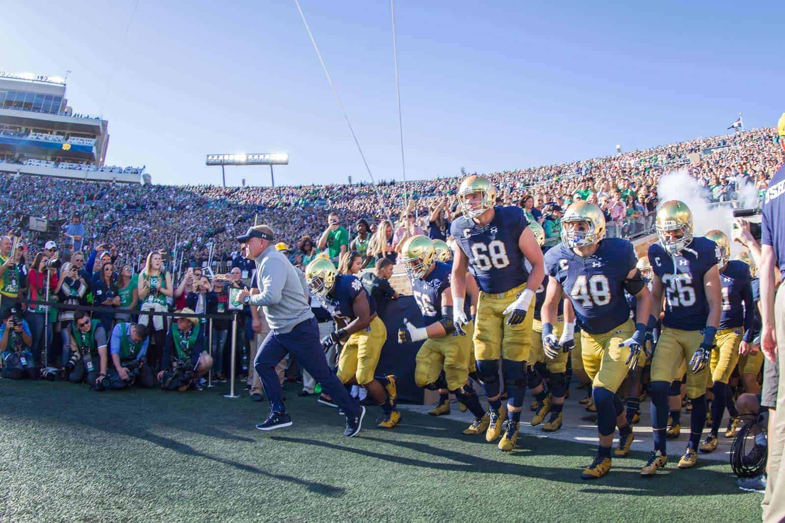 College Football Schedule: Notre Dame
