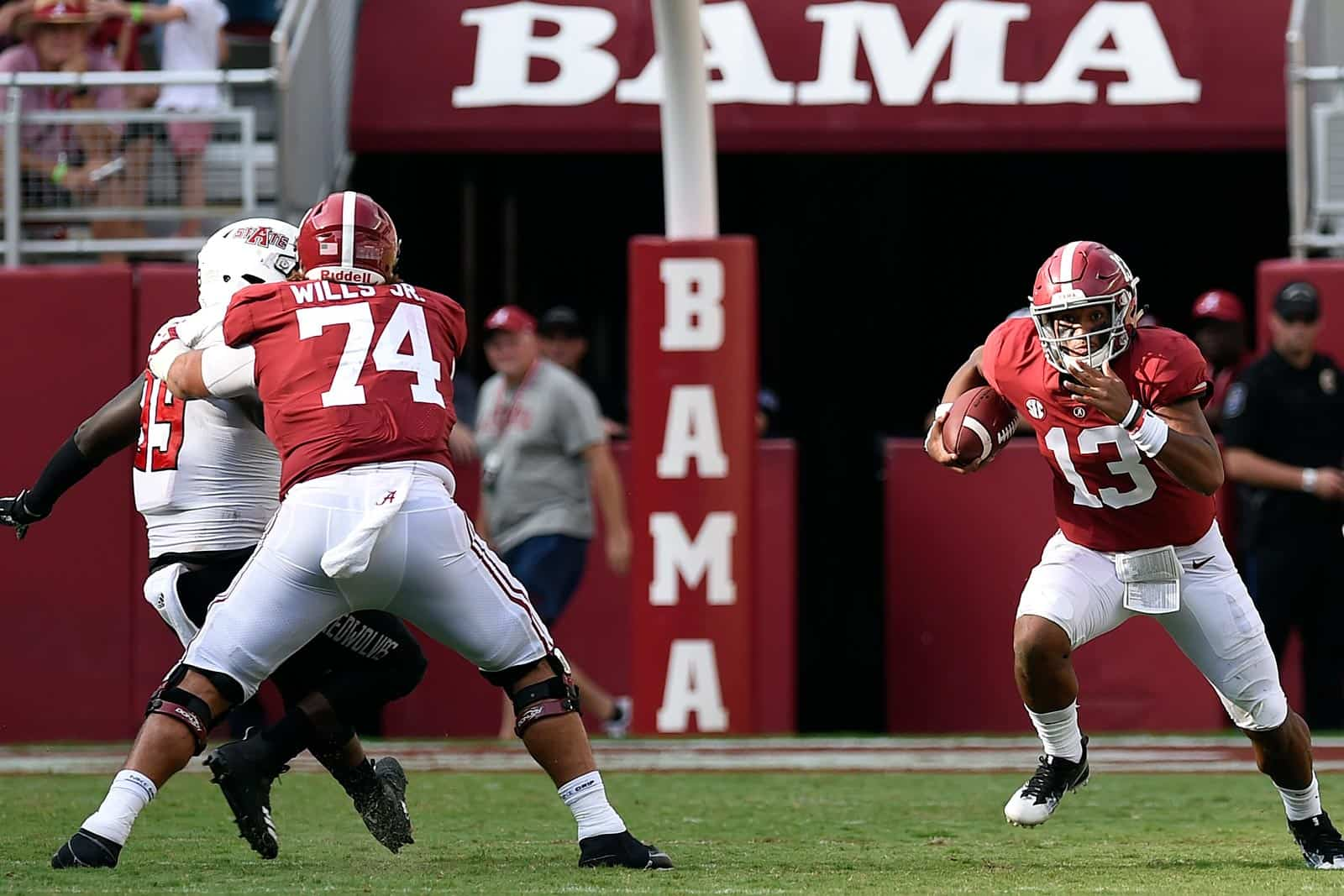 alabama football score 2020