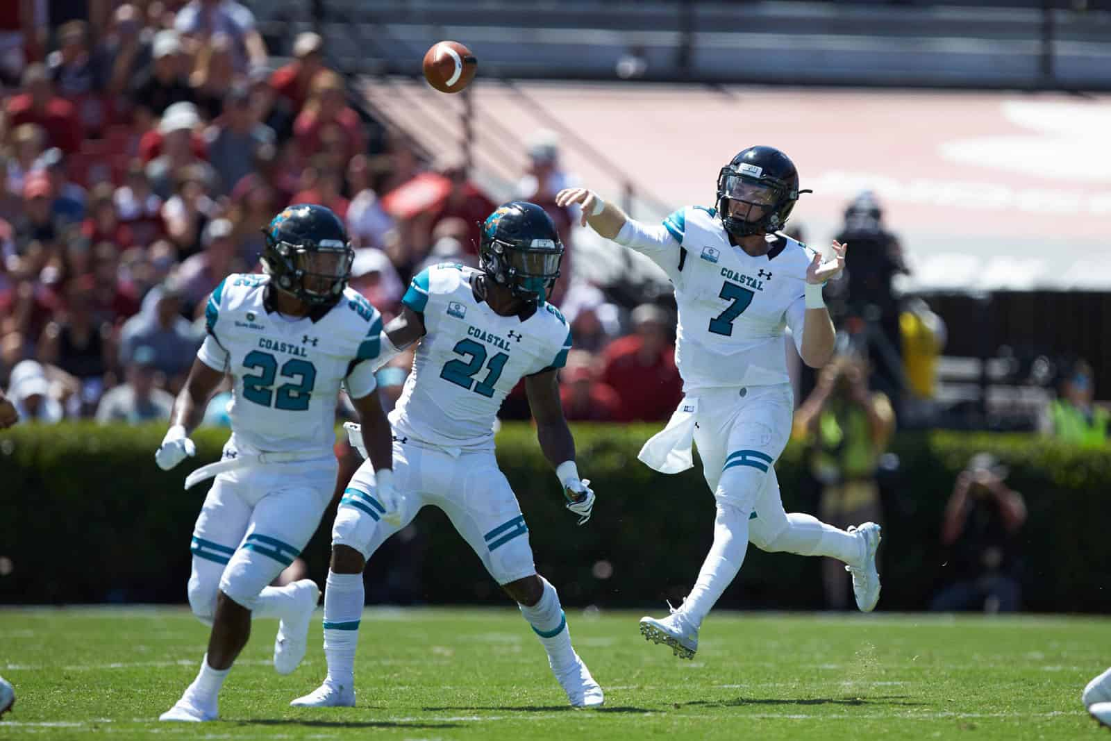 Campbell Coastal Carolina Game Moved Due To Hurricane Florence