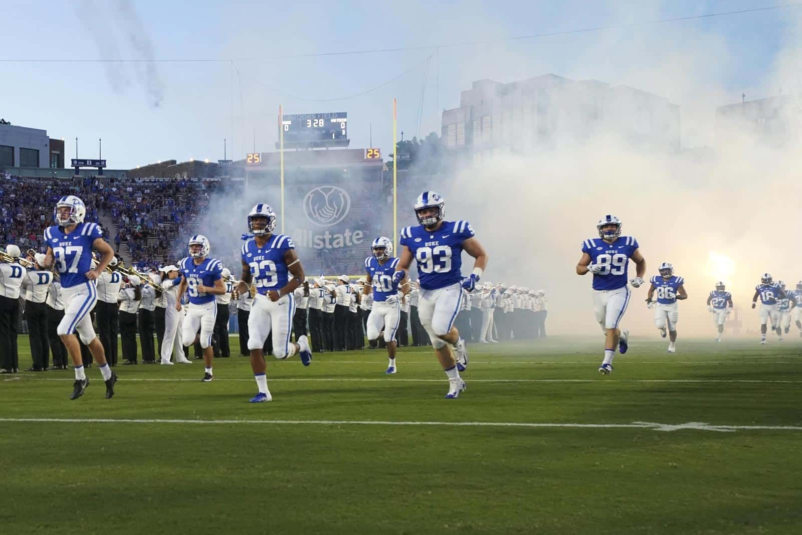 2019 Notre Dame At Duke Football Game Set For Acc Network
