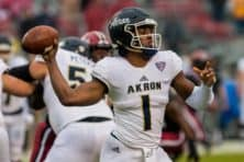 Akron to play at Michigan State, host Saint Francis U. in 2022