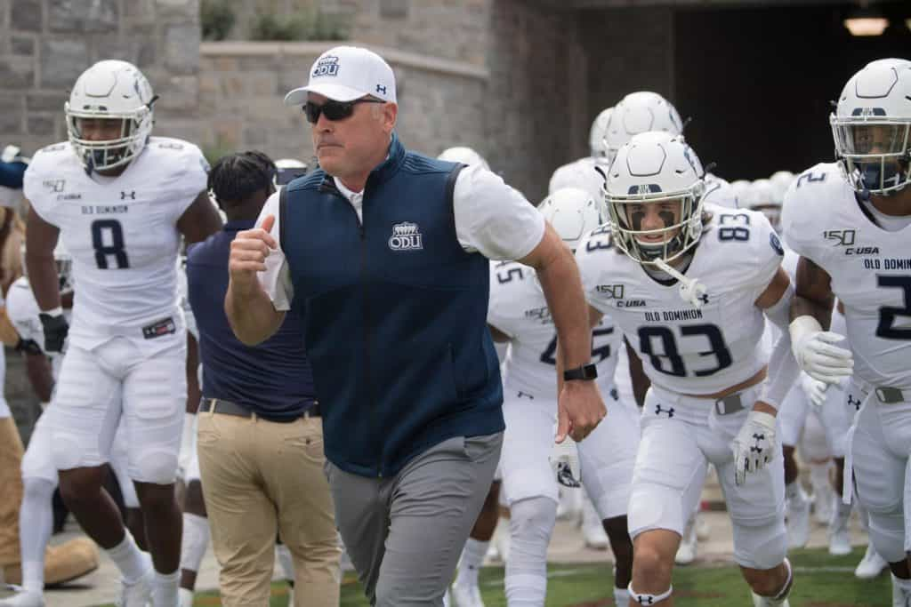 Old Dominion Adds Liberty To 2023 Football Schedule