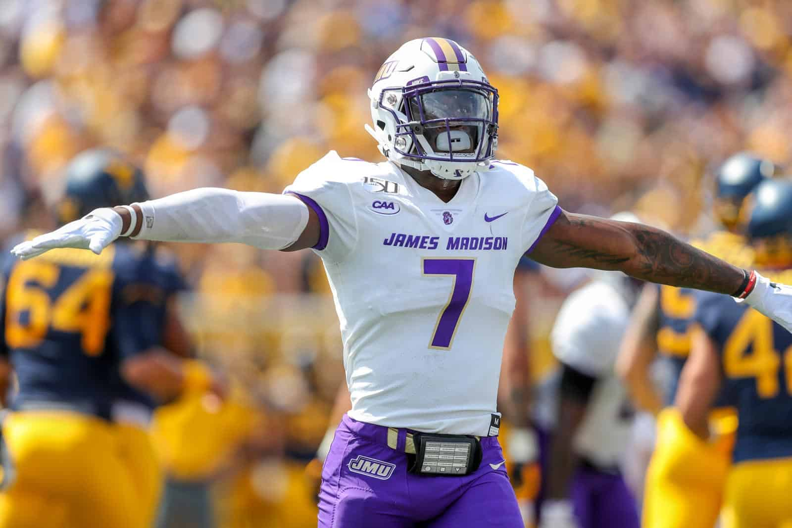 James Madison, Monmouth schedule football series for 2024, 2025
