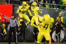 Oregon, Utah State schedule three-game football series beginning in 2027