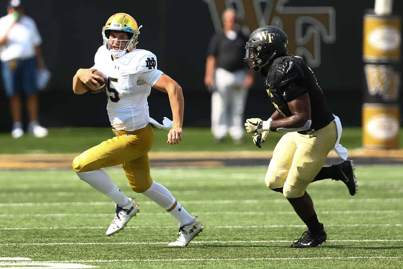 Notre Dame at Wake Forest football game postponed due to COVID-19