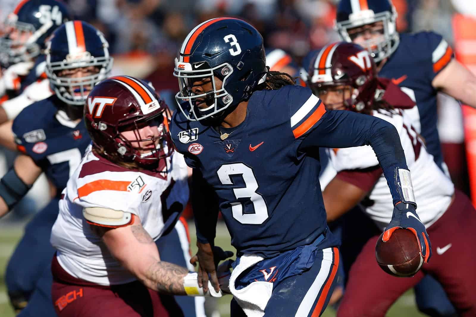 Virginia Cavaliers now will meet Virginia Tech Hokies on December 12