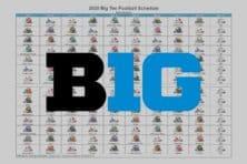 2020 Big Ten Football Helmet Schedule