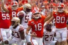 Clemson at Florida State football game postponed due to COVID-19