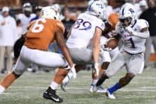 Saturday's Texas at Kansas football game canceled