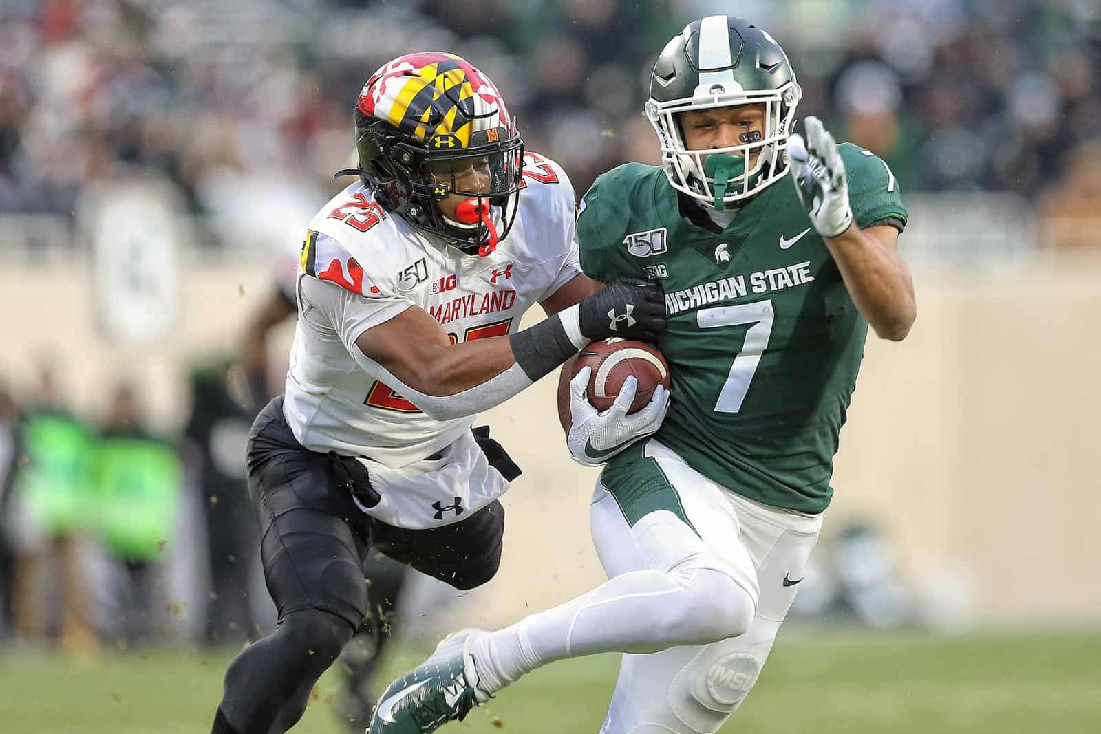 Michigan State at Maryland football game canceled again