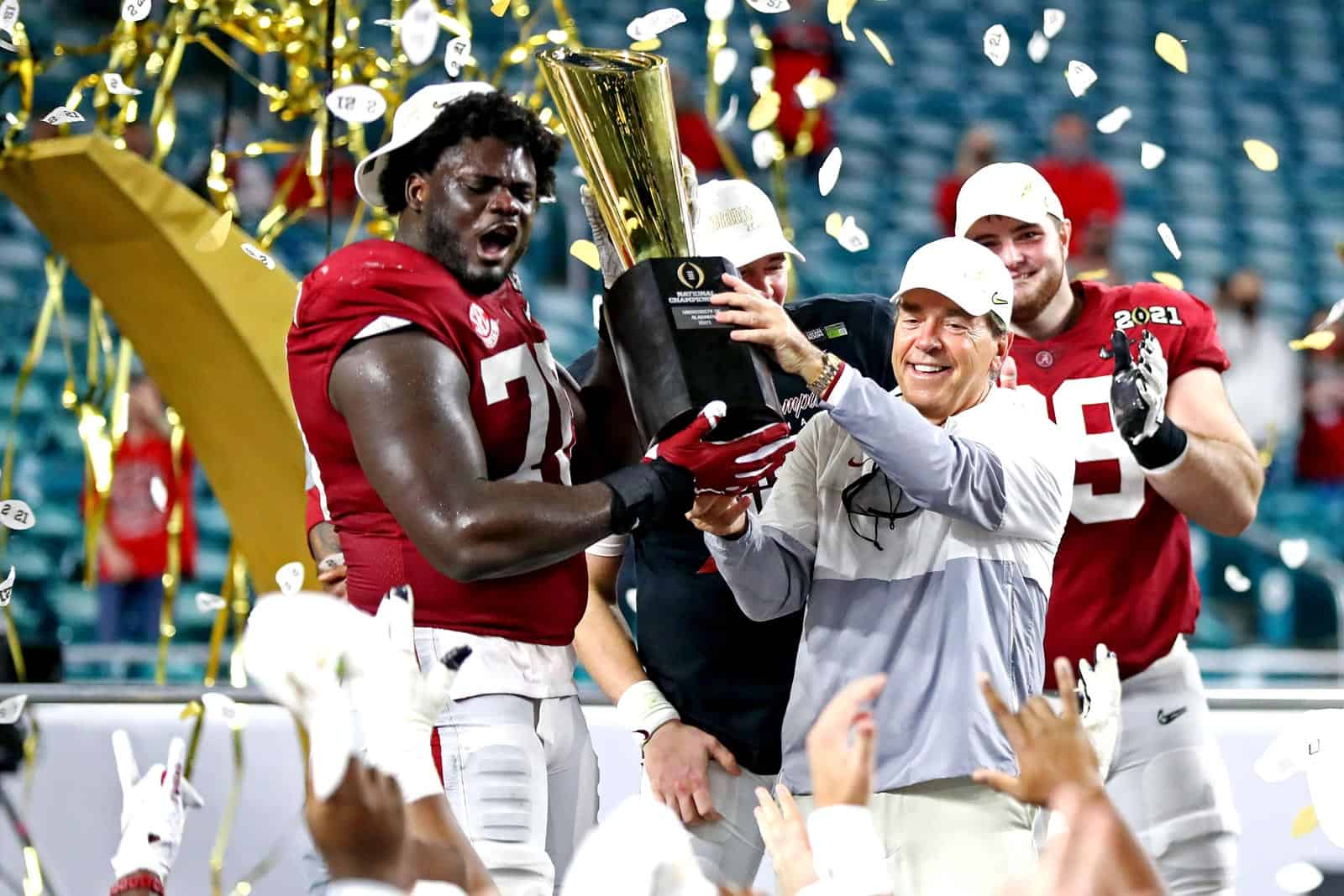 Alabama wins 2020-21 College Football Playoff National Championship