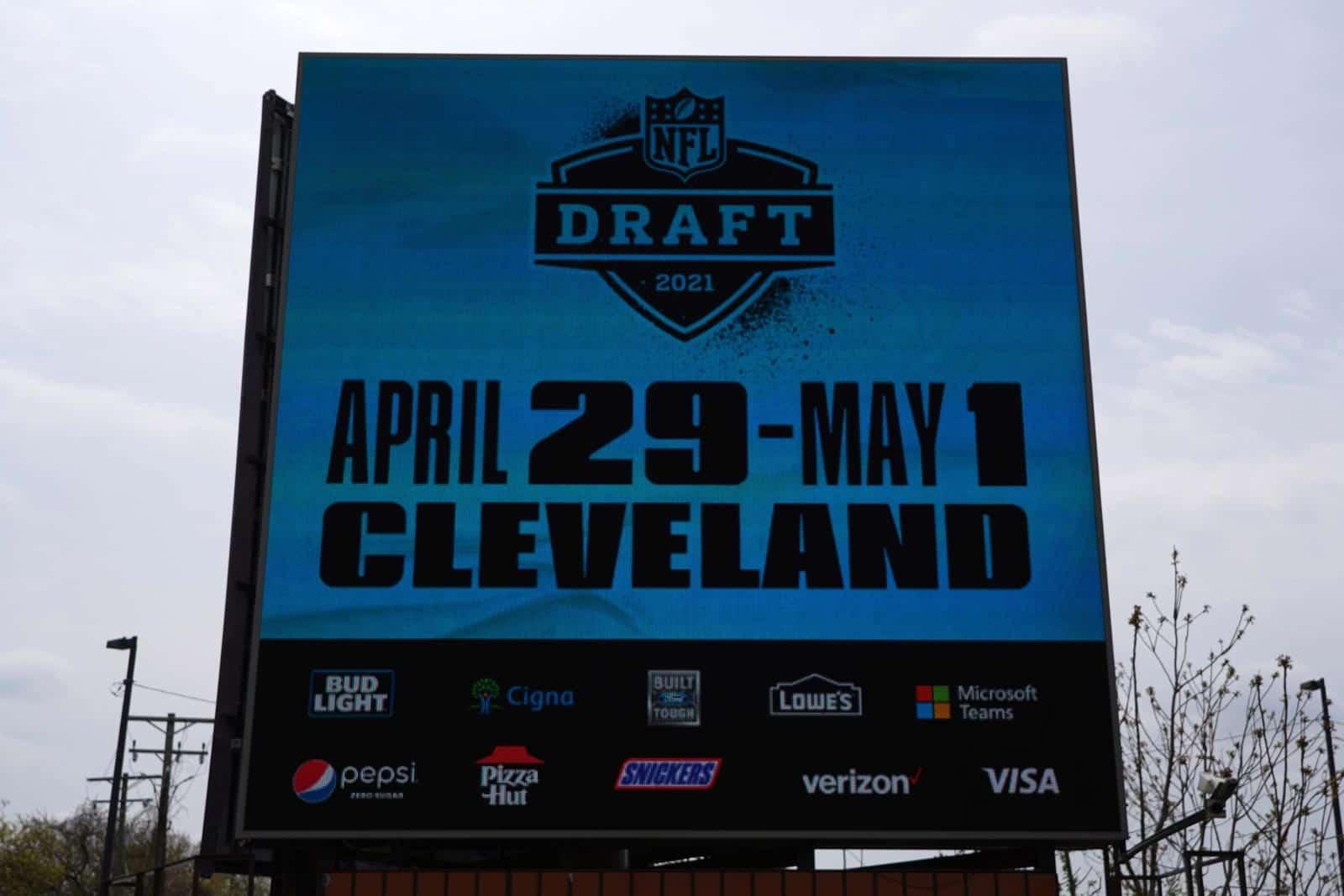 2021 NFL Draft Schedule