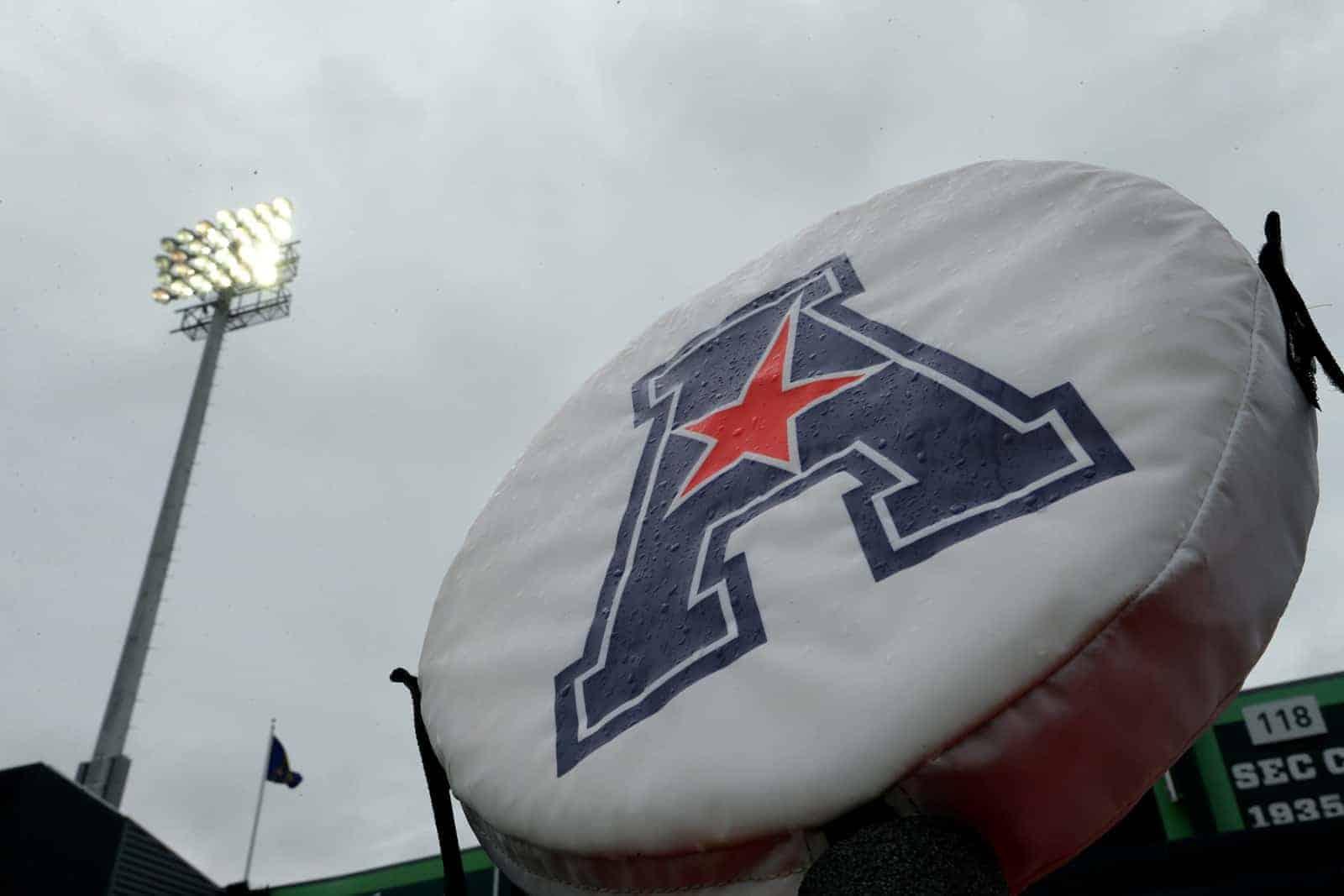 American early season 2021 football TV schedule