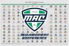 2021 MAC Football Helmet Schedule