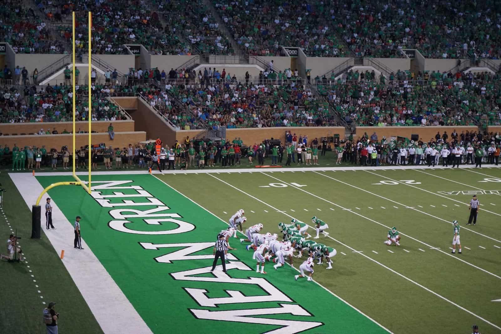 North Texas Mean Green